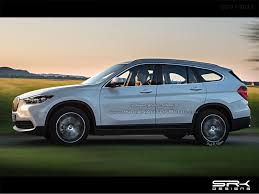 rendered 2016 bmw x1 hybrid with 7 seats