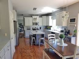 two tone kitchen cabinets white and grey two toned fancy farmhouse chic kitchen cabinets general