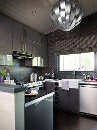 Modern Kitchen Cabinets Colors Small Modern Kitchen Design Ideas Hgtv Pictures Tips Hgtv