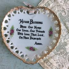 house blessings new home gift vintage house blessing