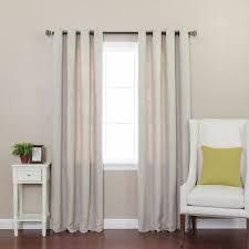 Sheer Grommet Curtains Strome Solid Semi Sheer Grommet Curtain Panels U0026 Reviews Birch Lane