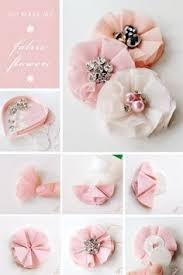 handmade hair accessories diy bejeweled flower hair accessories party