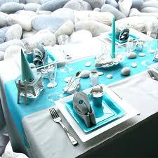 Ocean Themed Home Decor by Beach Themed House Ideas Beach Themed Party Table Decor Turquoise