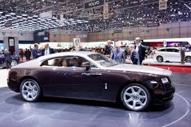 roll royce coupe the wraith is rolls royce u0027s idea of a high performance fastback coupe