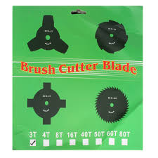 aliexpress com buy 3 teeth blade 25 4mm mower brush cutter for