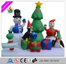 christmas decoration inflatable penguin christmas decoration