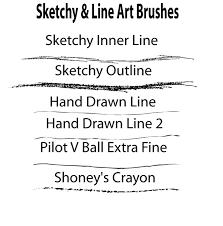 100 free sketchy brushes for adobe illustrator freebies