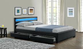 bed frame with lights beds with lights in headboard mybestfriendtherhino com