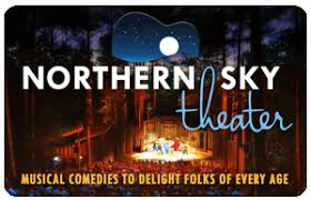 theater gift cards northern sky theater gift cards make great gifts