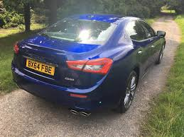 blue maserati ghibli used 2014 maserati ghibli dv6 for sale in worcs pistonheads