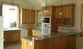 Alder Kitchen Cabinets by Knotty Alder Shaker Kitchen Cabinets Kitchen Crafters