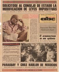 martes 11 enero 1972 como hoy abc color