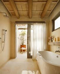 creative bathroom decorating ideas creative bathroom ideas wood tile in shower white storage cabinet