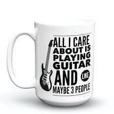 interesting coffee mug handmade guitar coffee mug coffee mugs on