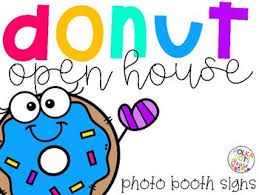 photo booth signs free donut open house photo booth signs and printables by polka