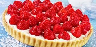 jeux de cuisine de aux fraises tarte aux fraises à la crème chantilly facile recette sur