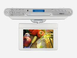 under cabinet dvd player mount a review of an under cabinet tv model coby ktfdvd1093 svr