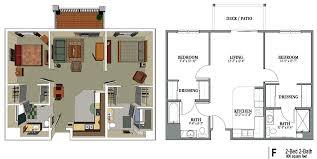 2 bedroom 2 bath floor plans floor plan for 2 bedroom flat waterfaucets