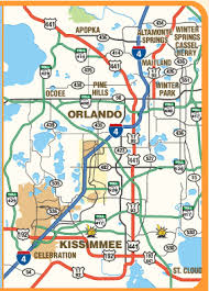 map of kissimmee printable maps of orlando and kissimmee florida print a free