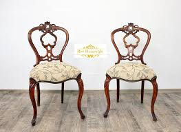 Barock Esszimmer Ebay Chippendale 2 Stühle Nussbaum Antik Barock Massiv Alt Stuhl