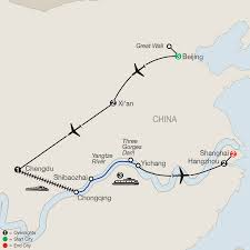 Xi An China Map by Japan U0026 China Tours Globus Asia Travel