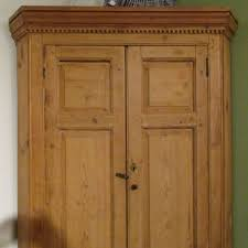 19th c english pine corner cupboard sold