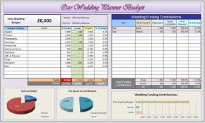 wedding programs exle wedding planner organiser custom excel template saving you money