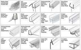 Shower Door Jamb Best Shower Seals For Glass Doors F86 In Wonderful Home Designing