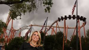 Six Flags Magic Mountain California Hours Started Flipping Burgers Now She U0027s The Boss At Six Flags Magic