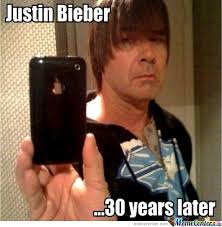 Justin Beiber Memes - justin bieber 30 years later by skill0wnya meme center