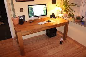 Schreibtisch Selber Bauen Mein Schreibtisch 2012
