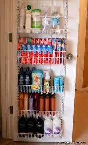 Behind Bathroom Door Storage Best 25 Closet Door Storage Ideas On Pinterest Pantry Storage