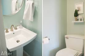 ideas for a small bathroom makeover small bathroom makeovers 10 transformations curbly