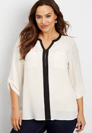 peekaboo blouse plus size blouses for blouse maurices