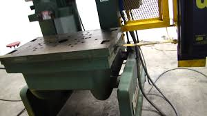 rouselle 60 ton obi punch press machine form stamp bend shear