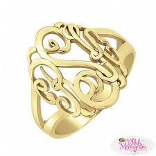 monogramed rings 660 best monogrammed jewelry images on monogram