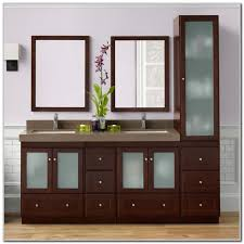 Insignia Bathroom Vanity by Bathroom Vanity With Attached Linen Closet Roselawnlutheran