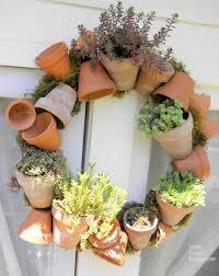 herb wreath diy herbs wreath 1001 gardens