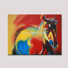 Rainbow Home Decor by Sell Handmade Oil Painting Animal Paintings Rainbow Background