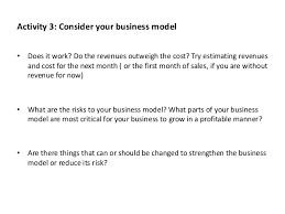 business model process workbook template