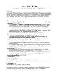 Sample Resume For Store Manager by Sample Resume Of Store Manager Free Resume Example And Writing