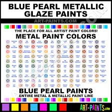 sapphire blue metallic glaze metal paints and metallic paints