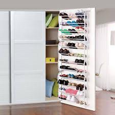 Shoe Closet With Doors Shoe Organizers Ebay