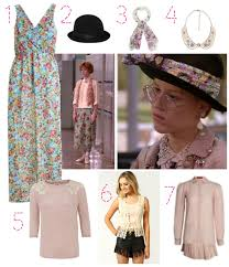 granny chic pretty in pink get the 80s granny chic look