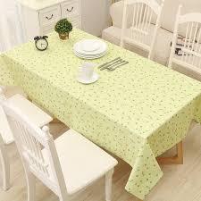 nappe cuisine plastique pastorale pvc table tissu pour la cuisine oilproof nappe rectangle