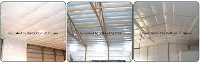 How To Build A Pole Shed Roof by Low Cost Insulation For Insulating Pole Barns And Buildings