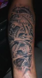 gear tattoo designs urlhttpwwwtattooshuntcombiomechanical gears