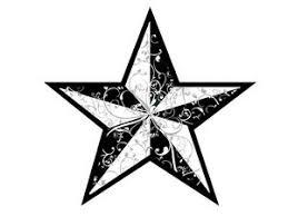 photo star tattoos black nautical star tattoo design
