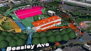 map mt smart stadium fleetwood mac concerts 21 u0026 22 november