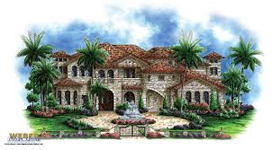 Spanish Homes Plans by Spanish House Plans Mediterranean Style Greatroom Courtyard